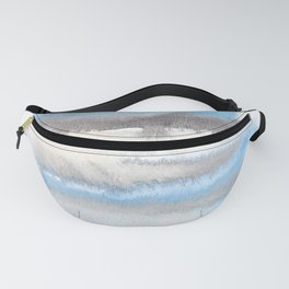 150129 Neutral Cool Abstract 21 Fanny Pack