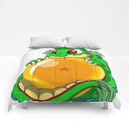 Baby dragon dragon ball Comforters