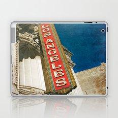 1931 Los Angeles Theatre Vintage Sign Laptop & iPad Skin