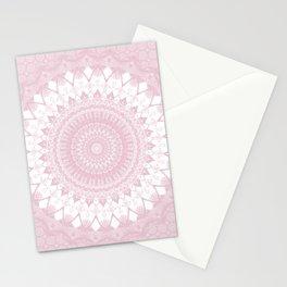Boho Pink Mandala Stationery Cards