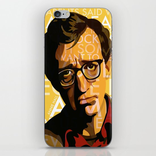 Woody Allen - Annie Hall I iPhone & iPod Skin