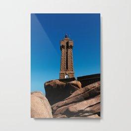 Mean Ruz Lighthouse Metal Print