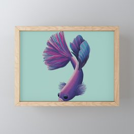 Fish2 Framed Mini Art Print