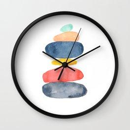 Zen Garden - I Wall Clock