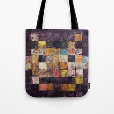 Purple Haze Invader Tote Bag