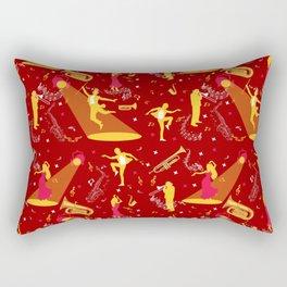 Musician Dancer Art Performer Life Rectangular Pillow