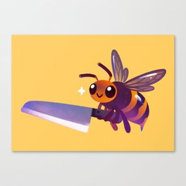 Asian giant hornet  Canvas Print