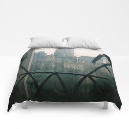 I LOVE A GOOD LOOKING GHERKIN Comforters
