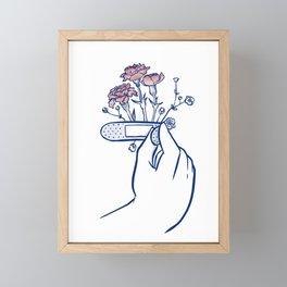 growing self-love Framed Mini Art Print