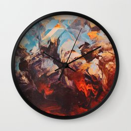 Otherwordly Things Wall Clock