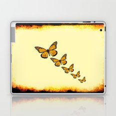 Rustic Butterflies Laptop & iPad Skin