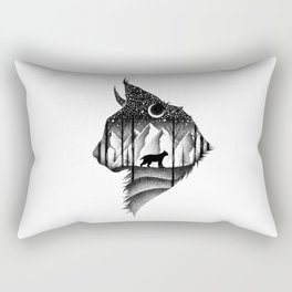 THE LYNX & THE MOON Rectangular Pillow
