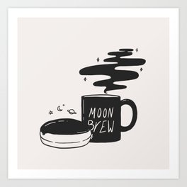 Moon Brew Art Print