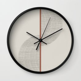 Geometric Composition II Wall Clock