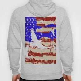 AMERICANA FLAG & WHITE EAGLES FROM  SOCIETY6 BY SHARLESART. Hoody