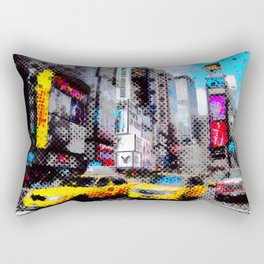 New York Pop Art Rectangular Pillow