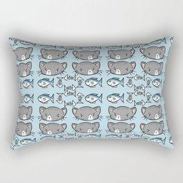 Kitty Pattern Rectangular Pillow