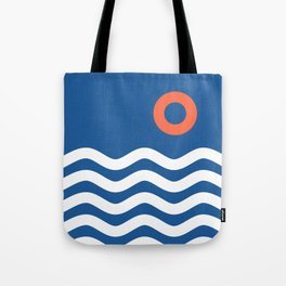 Nautical 03 Seascape Tote Bag