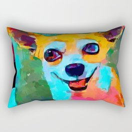 Chihuahua 3 Rectangular Pillow