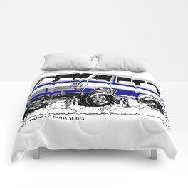 1969 GASSER VAN – Rev 2 BLUE Comforters