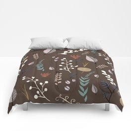 floral dreams 3 Comforters