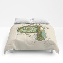 Celtic Initial Q Comforters