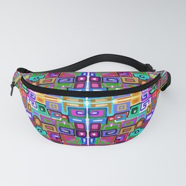 Collage Fanny Pack