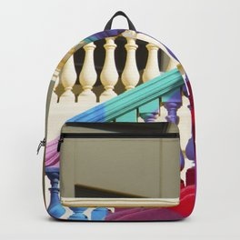 MULTICOLORED STAIRS HANDRAIL Backpack