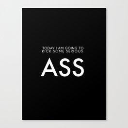 Kick Ass Canvas Print