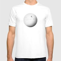 Element: Air MEDIUM White Mens Fitted Tee