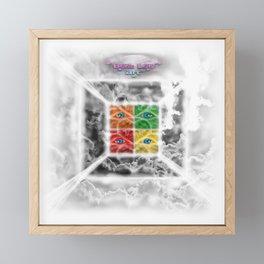 """Beez Lee Art : Square the Focus With Light"" Framed Mini Art Print"