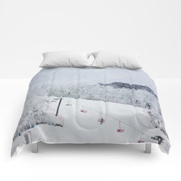 Early Morning Run Comforters