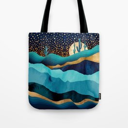 Indigo Desert Night Tote Bag