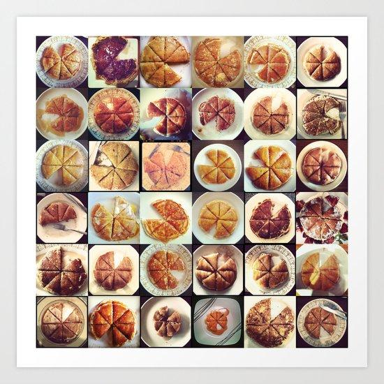 #pancakesForOne... Art Print