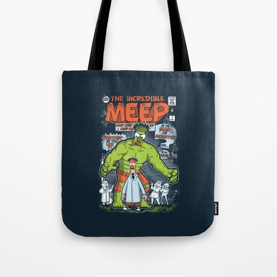 Incredible Meep Tote Bag
