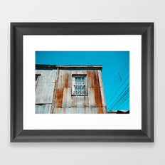 Rusty Framed Art Print