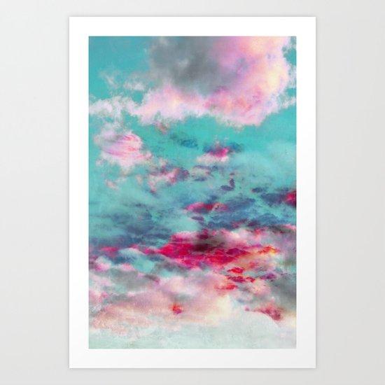 dreamy skyscape Art Print