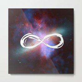 Space Galaxy Infinity Metal Print