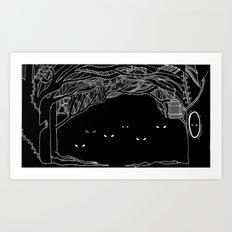 Face Your Fears. Art Print