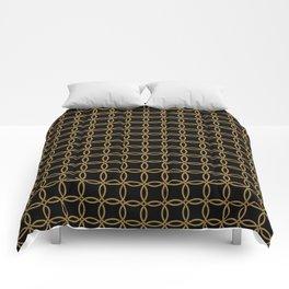 Links, Blk/Gld Comforters