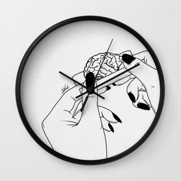 Rolling your mind. Wall Clock
