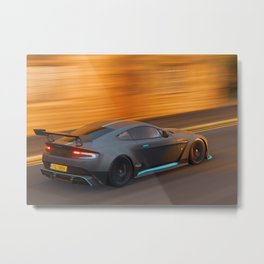 racecar aston Metal Print