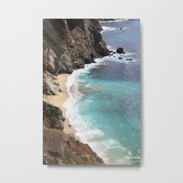 Get Lost in the Tides Metal Print