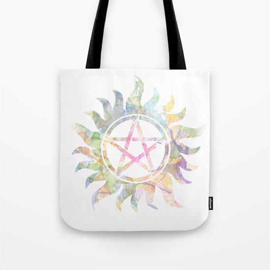 Supernatural watercolours Tote Bag