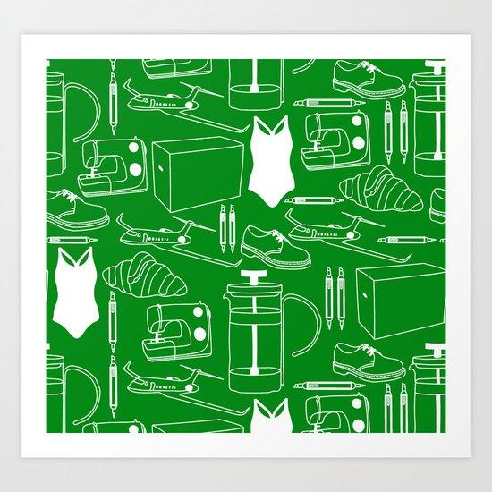 my luggage Art Print