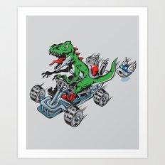 Clever Shell Art Print