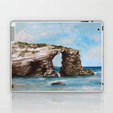 Playa de las catedrales Laptop & iPad Skin