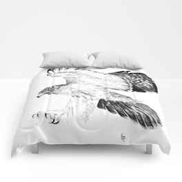 Red Tailed Hawk Comforters
