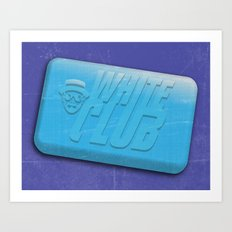 White Club Art Print