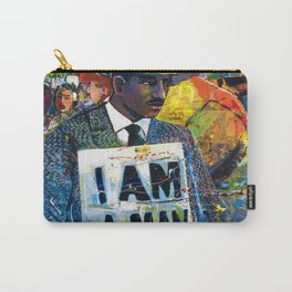 African American Atlanta Civil Rights Memorial Portrait No. 1 Carry-All Pouch